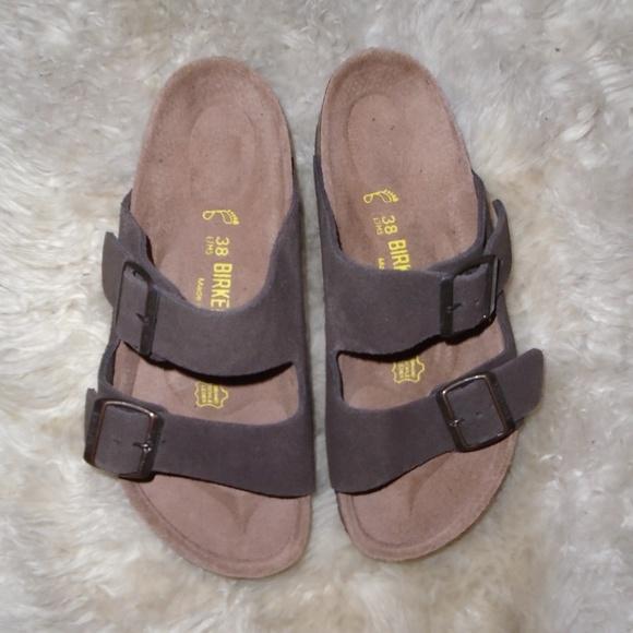 666cf44afa31 Birkenstock Shoes - NWOT BIRKENSTOCK SANDALS ~ 38 ~ sz.7 ~ BROWN SUEDE